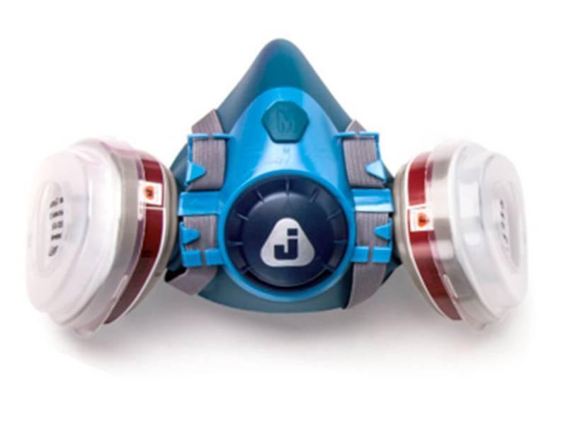 фото Полумаска с комплектом фильтров Jeta Safety 5500i, размер M