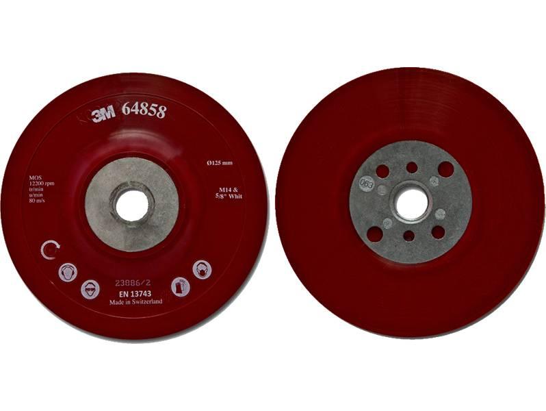 фото 3M™ Оправка для Фибровых Кругов 125 мм х 22 мм, Плоская, M14 и 5/8