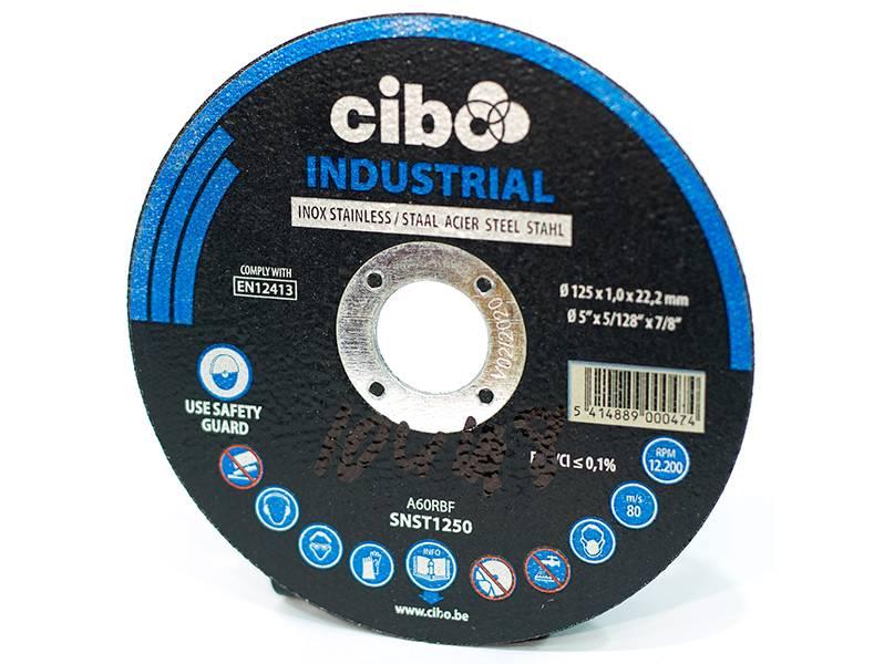 фото Отрезной круг Cibo INOX 125*1*22мм