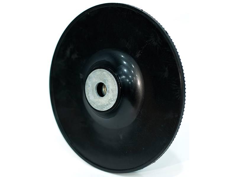 фото Опорная тарелка для фибровых дисков d180 мм