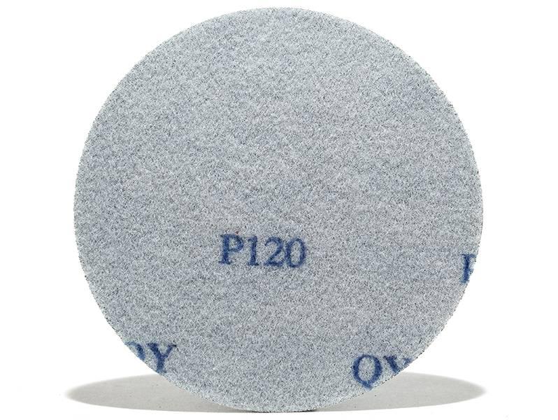 фото Шлифовальные круги ZK d125, на липучке, зерно P120, уп-ка 5шт