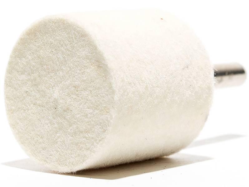 фото Головки войлочные полировальные, форма A, диаметр 30мм