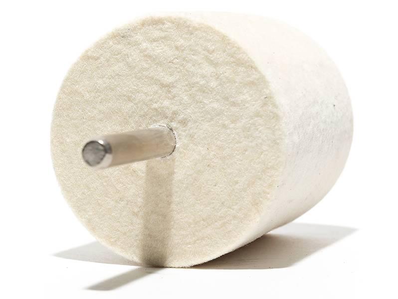 фото Головки войлочные полировальные, форма A, диаметр 50мм