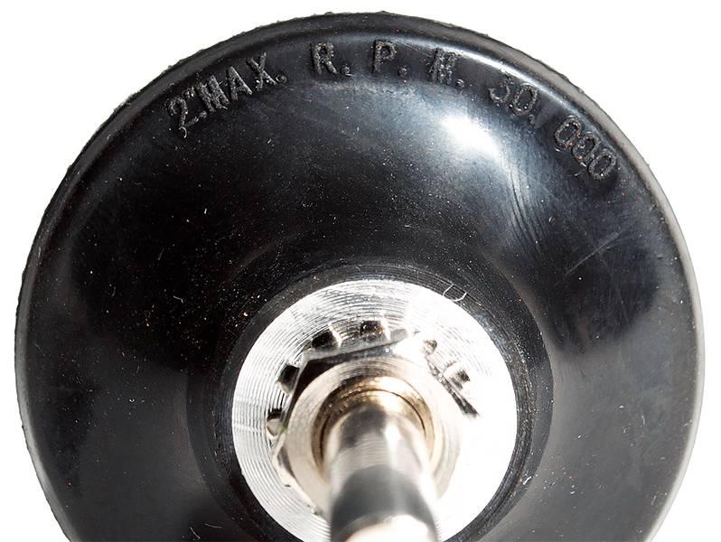 фото Опорная тарелка d50мм с креплением Roloc™ для кругов QCD, MCD, MFD