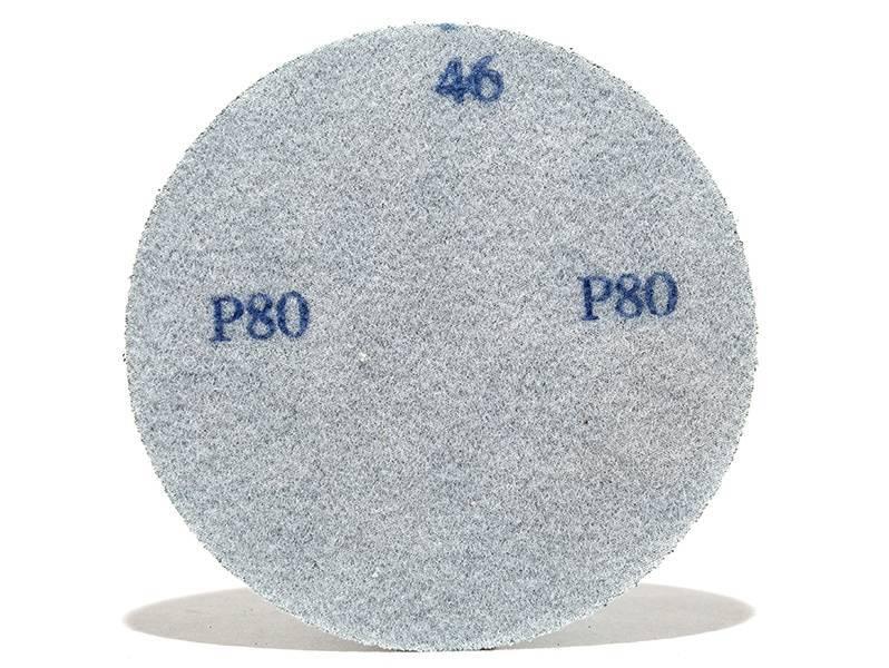 фото Шлифовальные круги ZK d75, на липучке, зерно P80