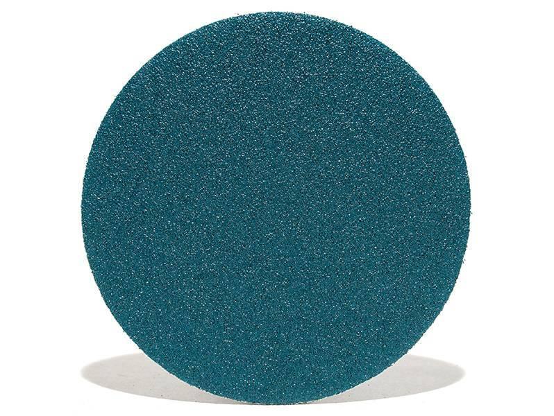 фото Шлифовальные круги ZK d150, на липучке, зерно P80