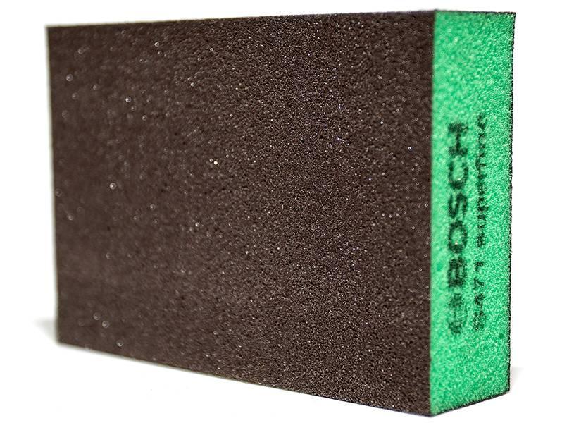 фото Шлифовальная губка Bosch 69x97x26мм, зернистость Super fine (Р320-500)