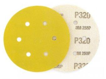 фото Шлифовальные круги 3М 255 P с креплением Хукит (липучка) d150, зерно P500