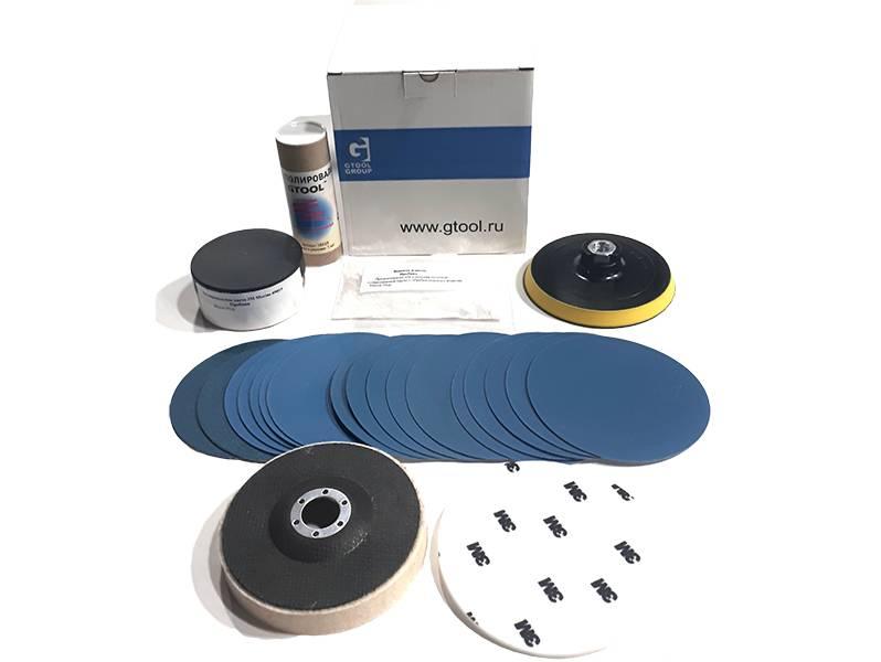 фото INOX-Plane B профессиональный набор для обработки поверхностей