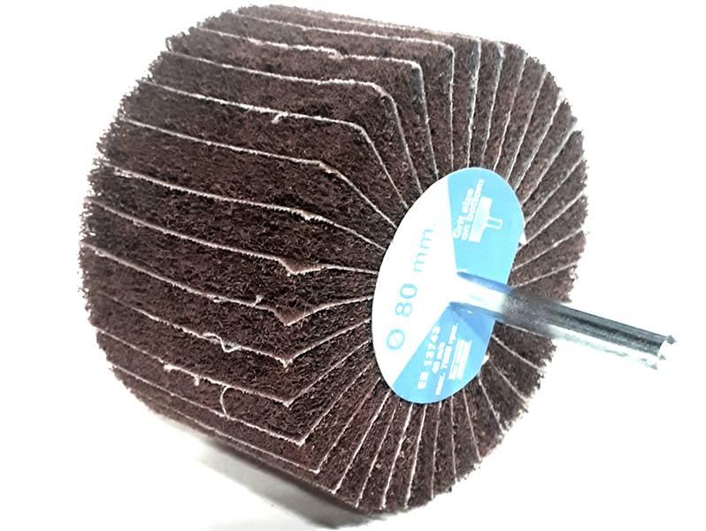 фото Шлифовальные головки лепестковые комбинированные, 80х50х6мм, зерно fine