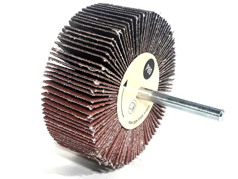 фото Шлифовальные головки лепестковые 80х30х6мм, зерно P80