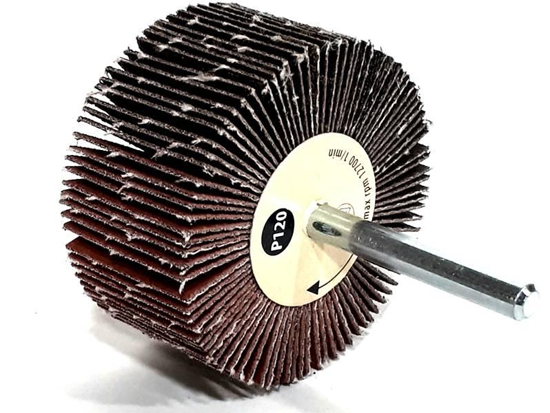 фото Шлифовальные головки лепестковые 60х30х6мм, зерно P120