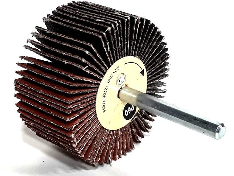фото Шлифовальная головка лепестковая 60х30х6мм, зерно P60