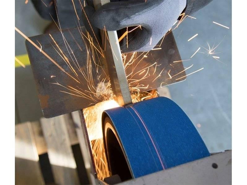 фото Абразивные шлифовальные ленты GRIT тип R, 75х2000мм, зерно 40, 10шт