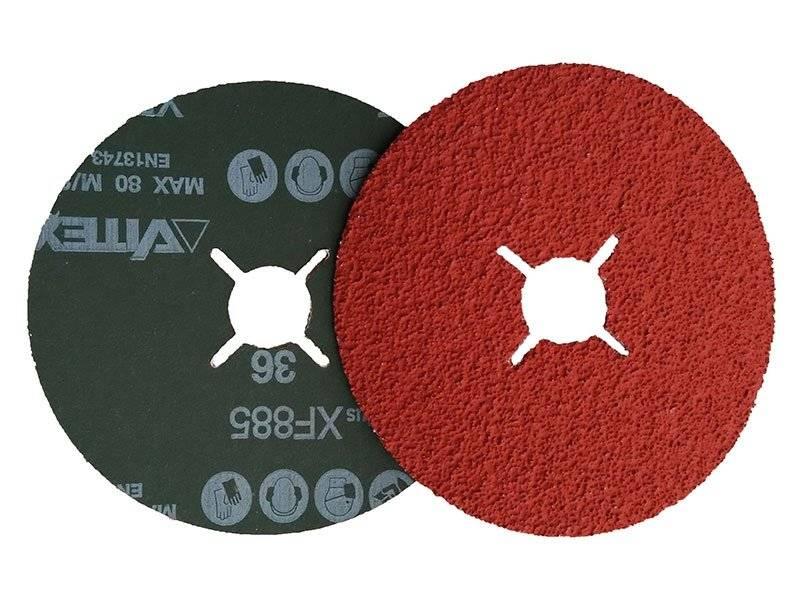 фото Фибровый круг VSM XF885 Сeramic Plus d125мм, зерно Р50