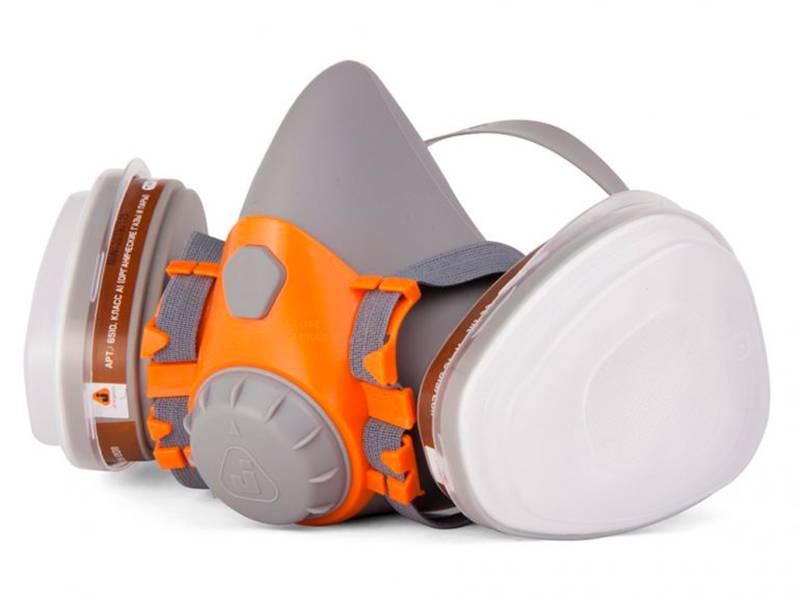 фото Полумаска с комплектом фильтров Jeta Safety 6500Set, размер M
