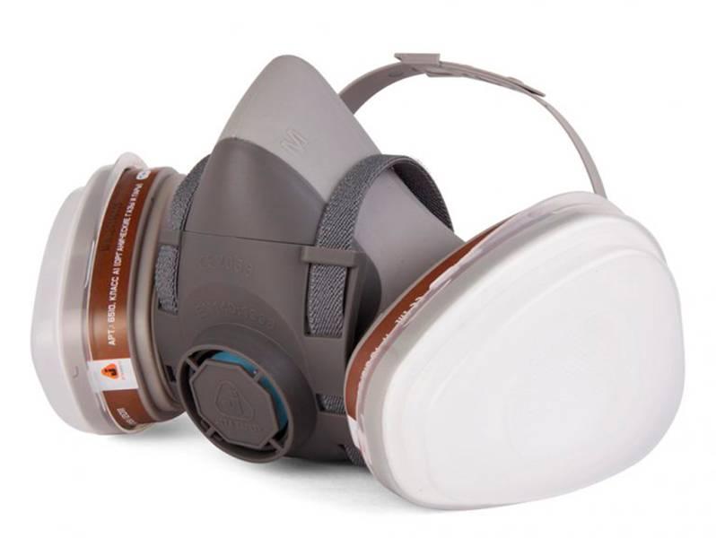 фото Полумаска с комплектом фильтров Jeta Safety 5500P, размер M