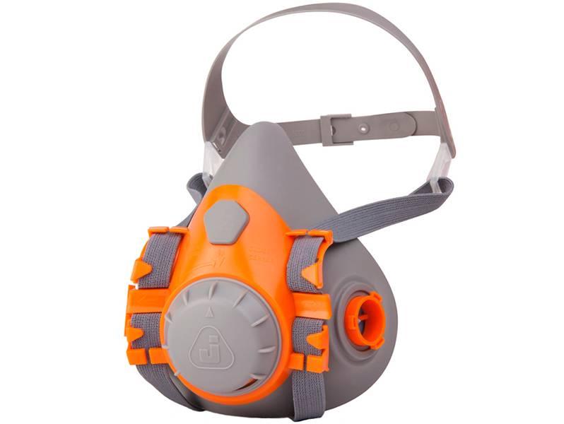 фото Газовая полумаска (без фильтров) Jeta Safety 6500, размер L