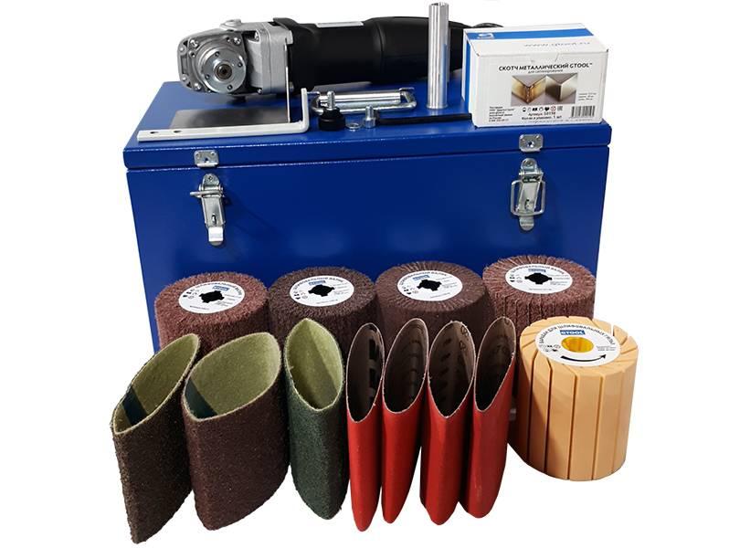 фото INOX-Profi набор для сатинирования высококачественной стали