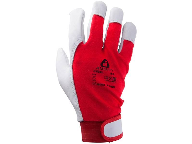 фото Монтажные перчатки Jeta Safety JLE021, размер L