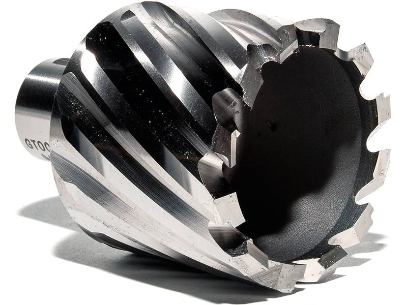 фото Корончатое сверло по металлу GTOOL G-Cut XE Weldon19, глубина 25/30мм, диаметр 43мм