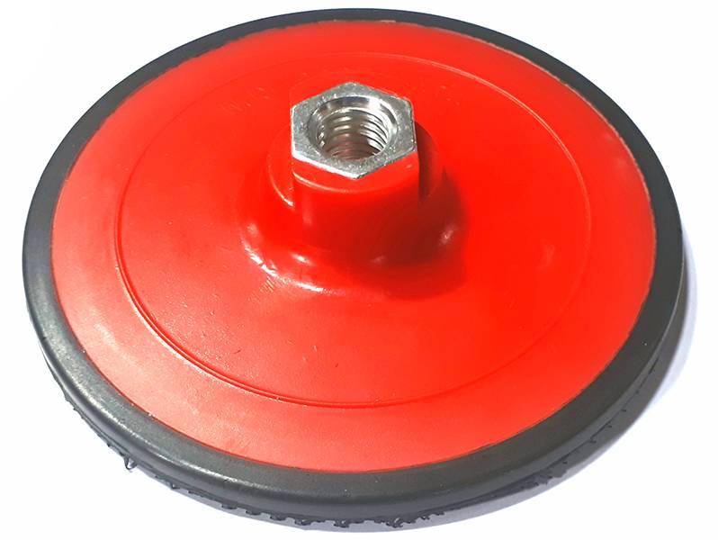 фото Опорная тарелка d125*M14 (Velcro) для нетканых материалов
