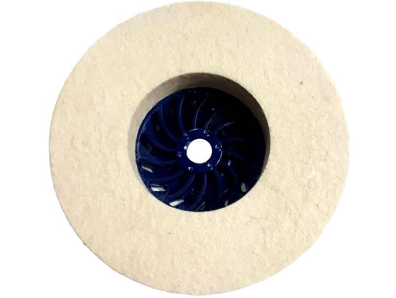 фото Круг торцевой полировальный войлочный d125*20*М14