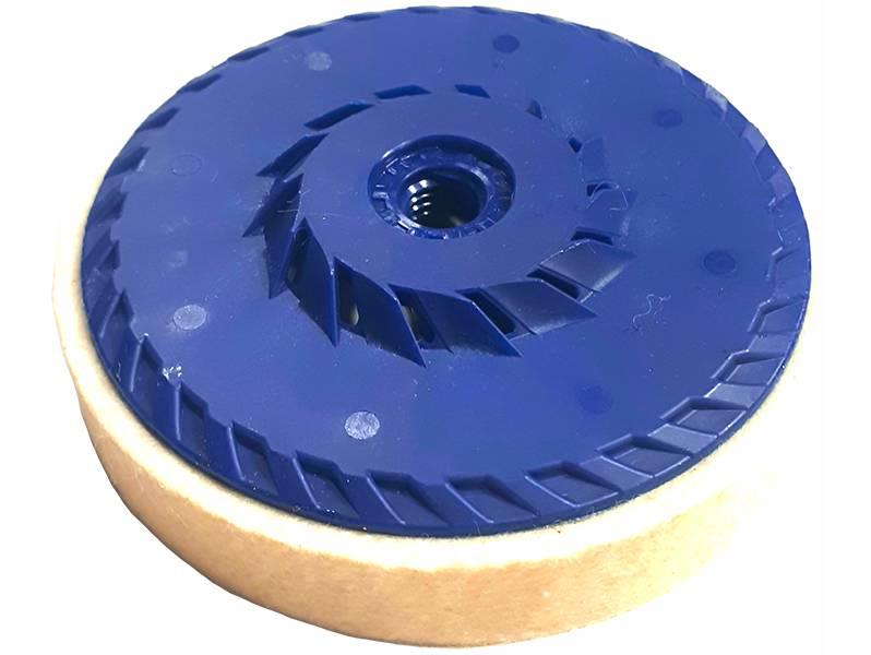 фото Круг торцевой полировальный войлочный d125*20*М14, 0,4г/см3