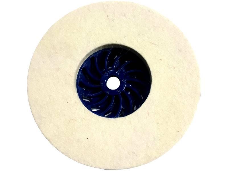 фото Круг торцевой полировальный войлочный d135*10*М14