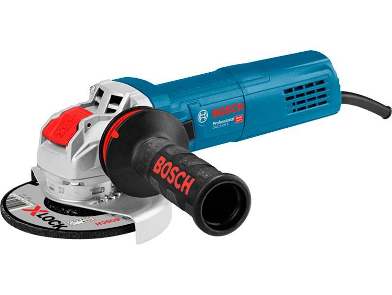 фото Угловая шлифмашина с X-LOCK Bosch GWX 9-125 S Professional
