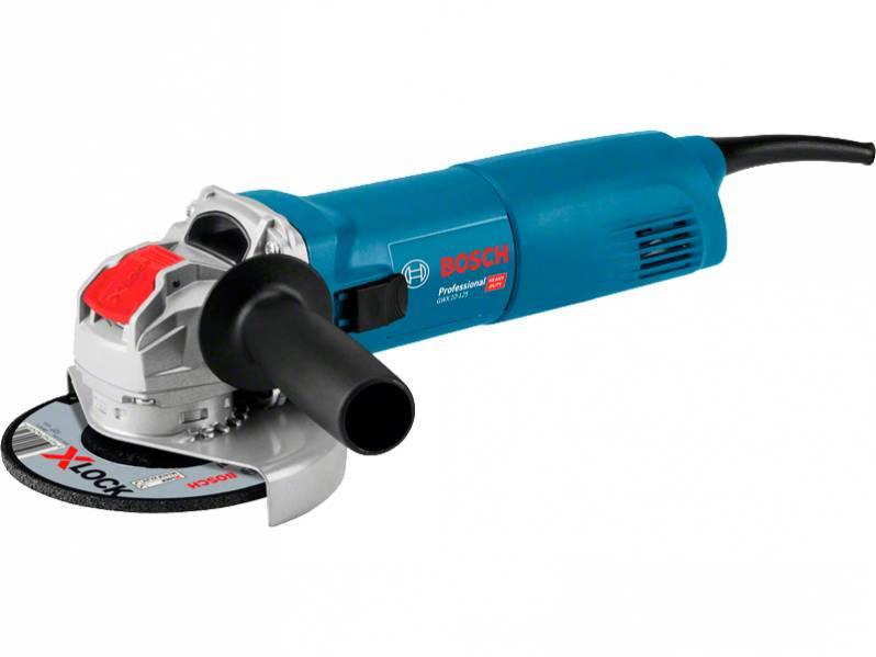 фото Угловая шлифмашина с X-LOCK Bosch GWX 10-125 Professional