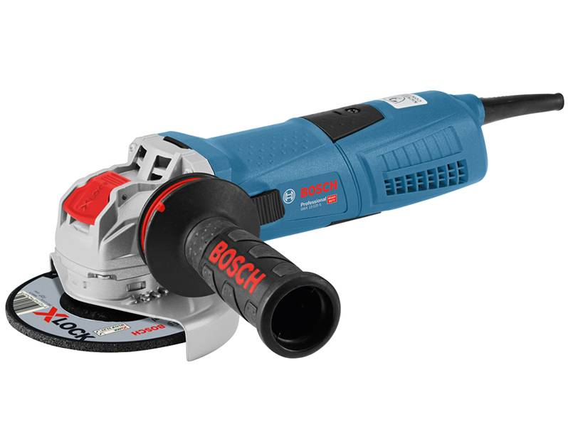 фото Угловая шлифмашина с X-LOCK Bosch GWX 13-125 S Professional