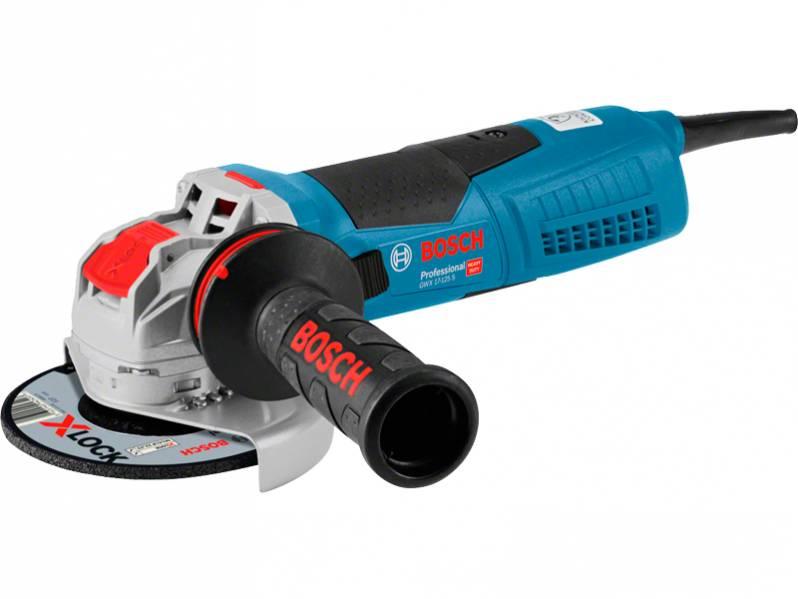 фото Угловая шлифмашина с X-LOCK Bosch GWX 17-125 S Professional