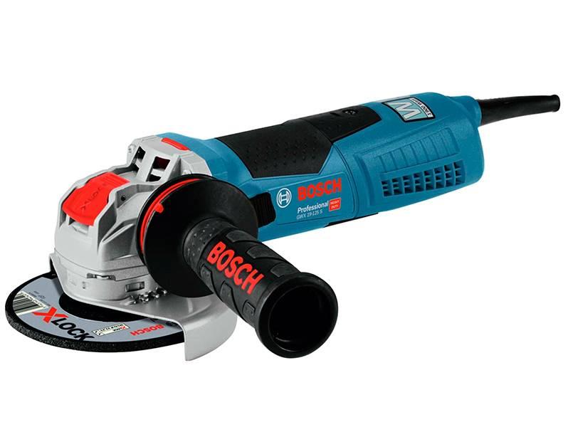 фото Угловая шлифмашина с X-LOCK Bosch GWX 19-125 S Professional