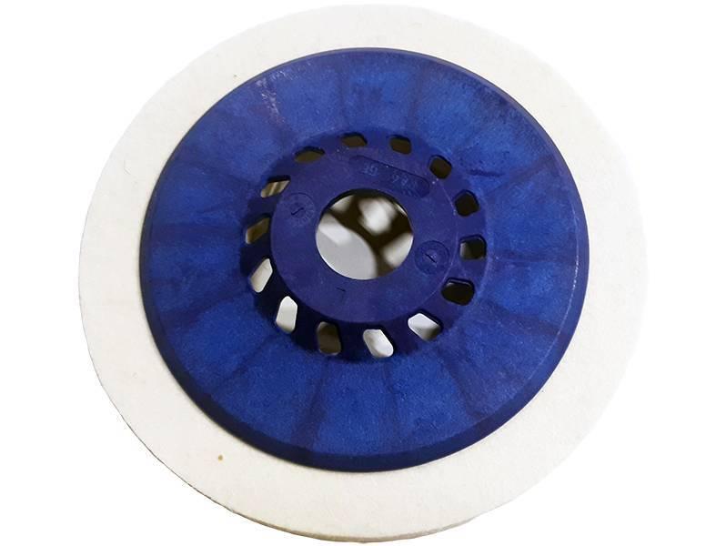 фото Круг торцевой полировальный войлочный 135х10х22мм, 0,4г/см3