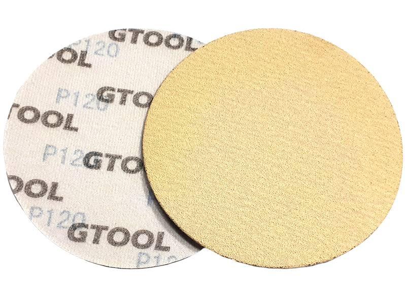 фото Шлифовальные круги d125, на липучке, зерно P120, уп-ка 10шт