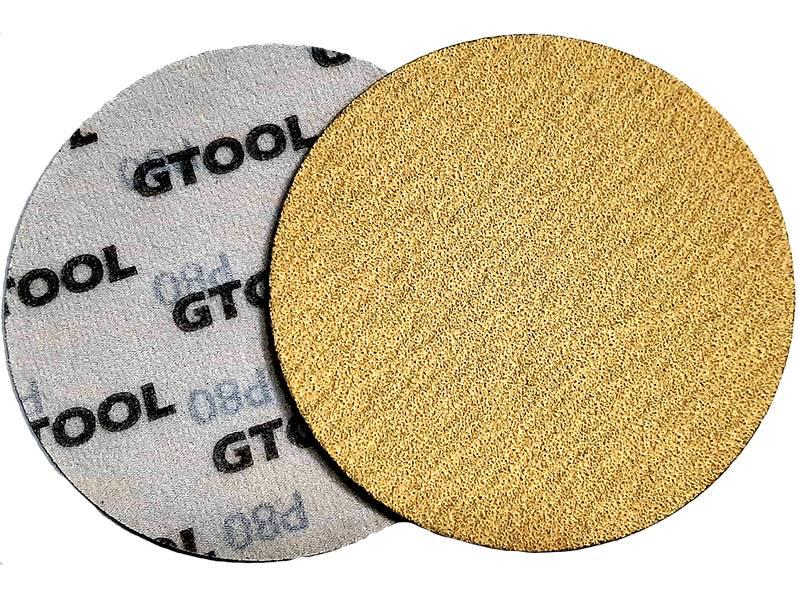 фото Шлифовальные круги d125, на липучке, зерно P80, уп-ка 10шт