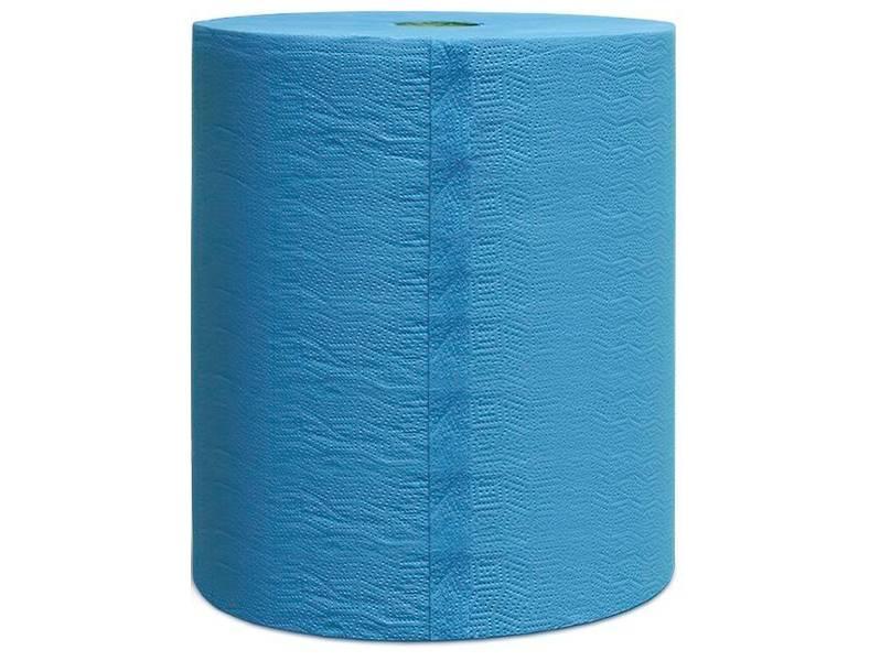 фото Двухслойные очищающие бумажные салфетки, 36г/м2, 36х38см, рул.500шт