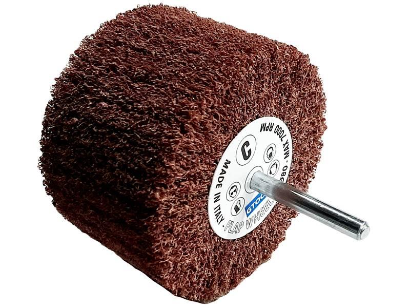 фото Шлифовальные головки лепестковые абразивные, 80х50х6мм, зерно coarse