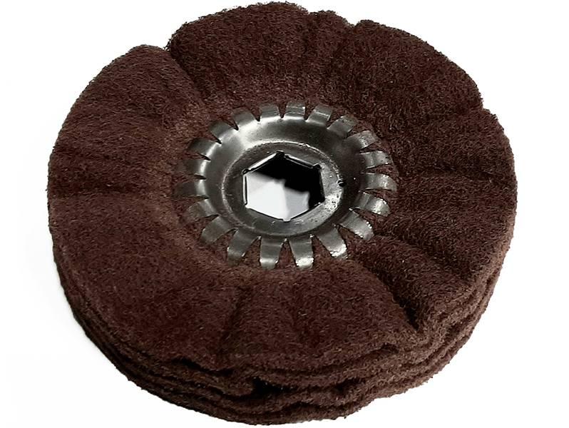 фото Шлифовальное кольцо из нетканого материала d150 FIN