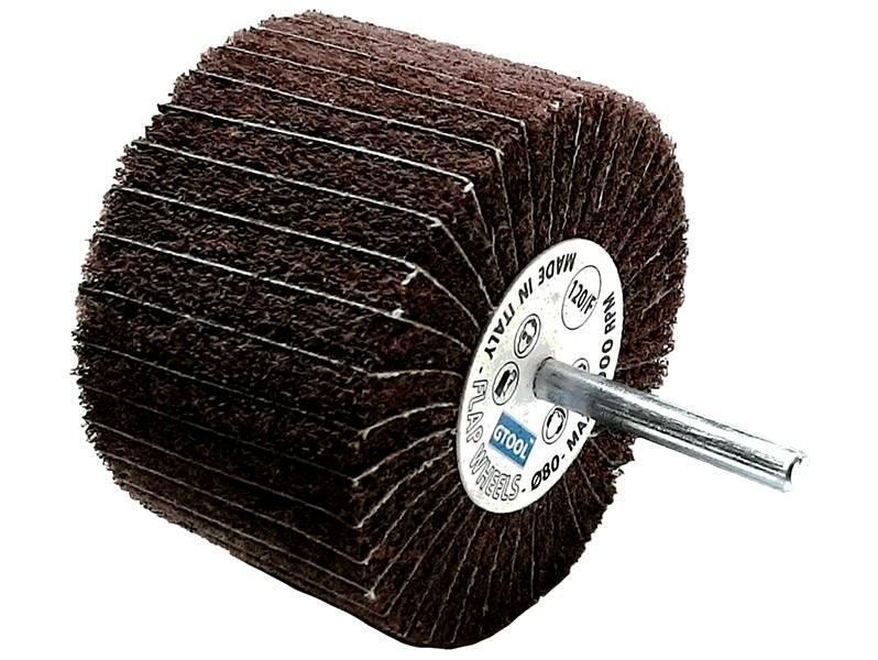 фото Шлифовальные головки лепестковые комбинированные, 80х50х6, зерно medium