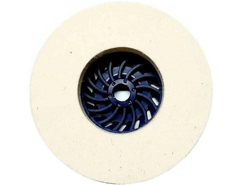 фото Круг торцевой полировальный войлочный d125*20*М14, 0,6гр/см3