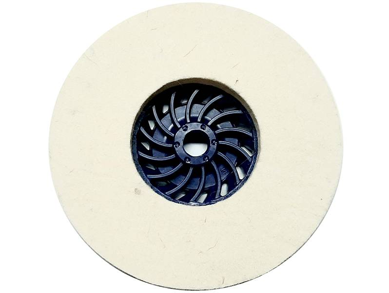 фото Круг торцевой полировальный войлочный d135*10*М14, 0,6гр/см3