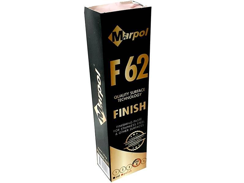 фото Полировальная паста Marpol F62, зеркальный финиш по стали, 1,2кг