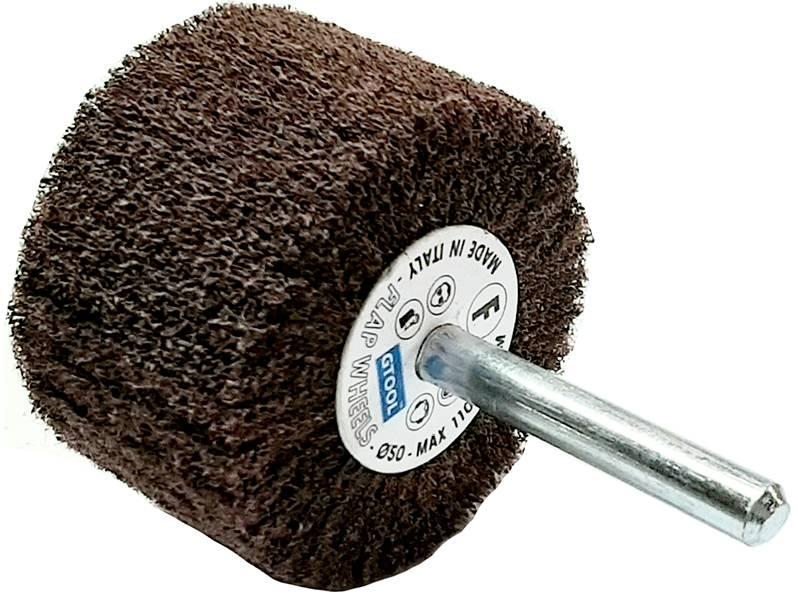 фото Шлифовальные головки лепестковые абразивные, 50х30х6мм, зерно fine