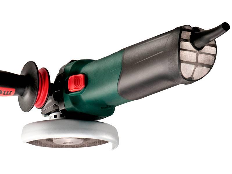 фото Metabo WEV 17-125 Quick Inox угловая шлифовальная машина
