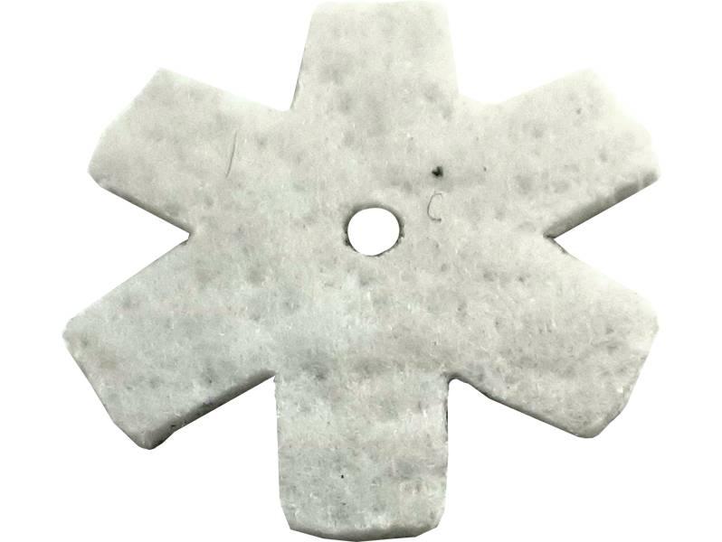 фото Полировальная звезда d50мм, зерно Б/А
