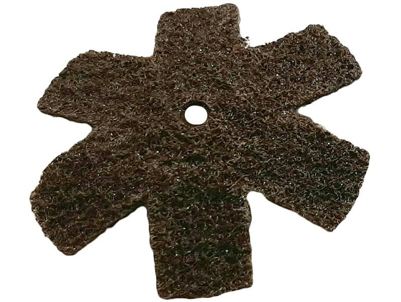 фото Шлифовальная звезда, d75мм, зерно Coarse (P60-80)