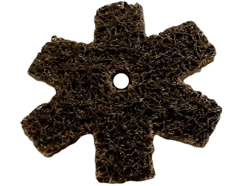 фото Шлифовальная звезда, d50мм, зерно Coarse (P60-80)