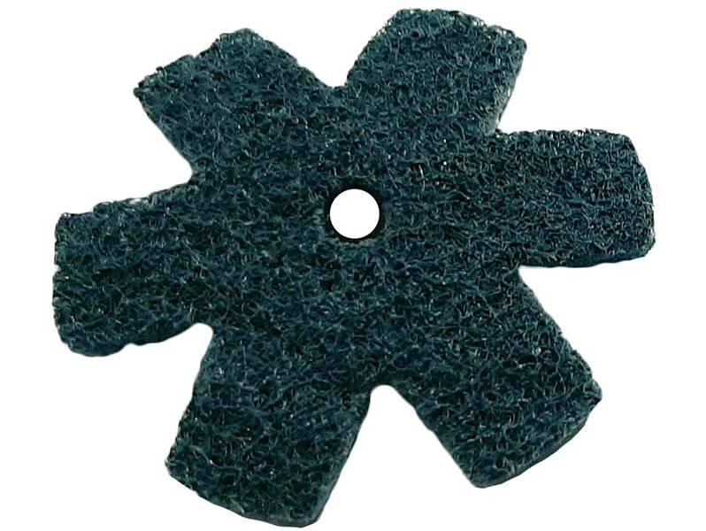 фото Шлифовальная звезда, d50мм, зерно VFine (P220-240)